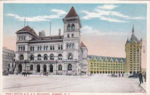 Post Office and D & H Building Albany New York 1919
