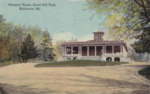Mansion House, Hill Park, Baltimore, Maryland, PU-1912
