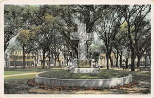 F15/ Mobile Alabama Postcard 1916 The Cross Bienville Park 10