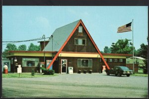 New York ~ Southwest Rochester KOA, 7289 Lake Road BERGEN Chrome 1950s-1970s