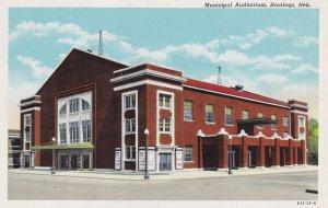 HASTINGS, Nebraska, 1930-1940's; Municipal Auditorium