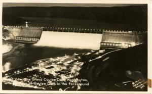 WA - Grand Coulee Dam  *RPPC