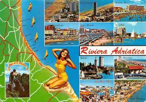 Italy Riviera Adriatica multiviews Cesenatico Igea Marina Veserba Rimini