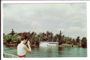 Pretty Passanger, Thousand Islands Cruise Boat, Ontario, Used Belleville Cancel