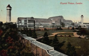 Crystal Palace, London, England, Great Britain, Early Postcard, Unused