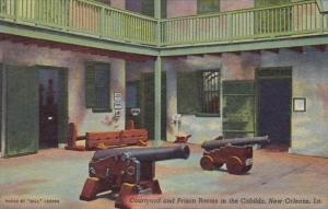 Courtyard And Prison Rooms In The Cabildo New Orleans Louisiana
