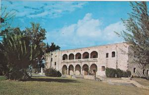 Dominican Republic , 50-60s : Diego Columbus Castle , SANTO DOMINGO #2