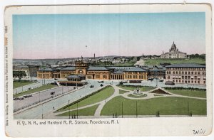 Providence, R.I., N.Y.N.H. and Hartford R. R. Station