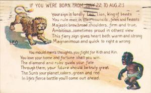 If You Were Born From 22 July To 23 August