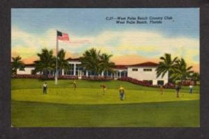 FL WEST PALM BEACH Country Club FLORIDA PC Golf Golfing