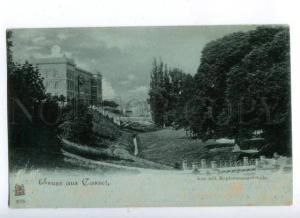172133 GERMANY GRUSS aus CASSEL Vintage RPPC 1898 to Ukraine