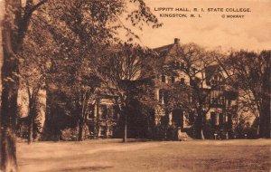 Lippitt Hall, Rhode Island State College, Kingston, R.I, Postcard, Used in 1951
