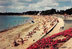 France Benodet Vue generale de la Grande Plage Promenade Beach