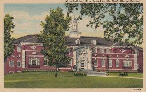 OLATHE , Kansas , 1930-40s ; Main Building , State School for the Deaf