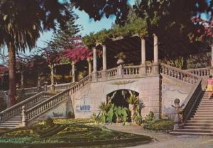 Aveiro Garden Portugal Postcard