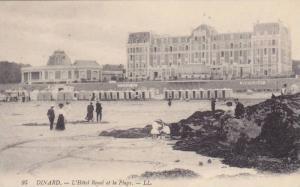 DINARD, L'Hotel Royal et la Plage, Ille et Vilaine, France, 00-10s