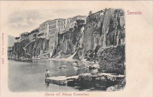 Italy Sorrento Marina coll' Albergo Tramontana