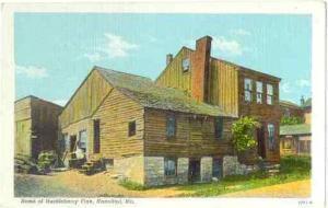 Home of Huckleberry Finn, Hannibal, Missouri, MO, Linen