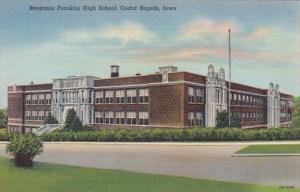 Iowa Cedar Rapids Benjamin Franklin High School 1941Curteich