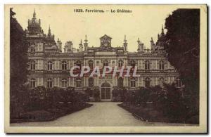 Old Postcard Ferrieres Le Chateau