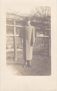 Military Soldier In Uniform Real Photo