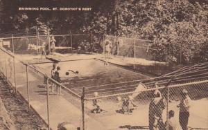 Swimming Pool St Dorothy's Rest California Artvue