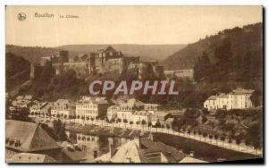 Old Postcard Bouillon Le Chateau