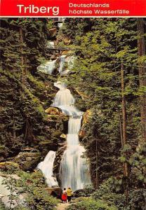 Triberg Schwarzwald, Wasserfaelle Waterfall Bridges