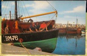 England Fishing Boats at Brixham - posted 1968