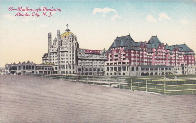 Marlborough-Blenheim, ATLANTIC CITY, New Jersey, 1900-1910s