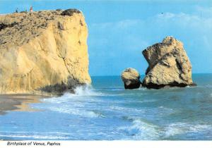 Cyprus Paphos Birthplace of Venus Cliff