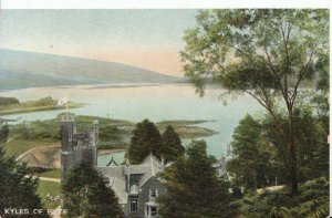 Scotland Postcard - Kyles of Bute - Ref  919A