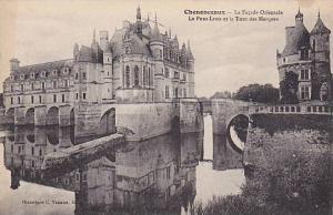 La Facade Orientale, Le Pont-Levis Et La Tour Des Marques, Chenonceaux (Indre...