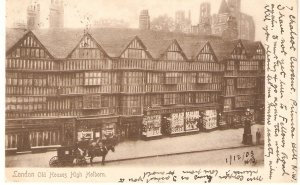 London. Old Houses. High Holborn Tuck View Series Postcard # 1150