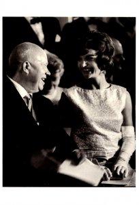 Jacqueline Kennedy & Nikita Kruschev Vienna Austria June 1961