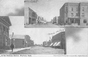 4404 Sask.Weyburn 1911 Business District