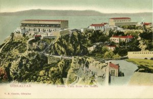 Gibraltar, Buena Vista from the South (1899) V.B. Cumbo Postcard