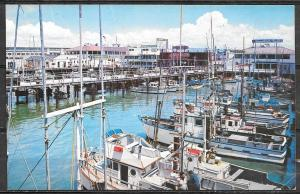 California, San Francisco, Fishermans Wharf, mailed