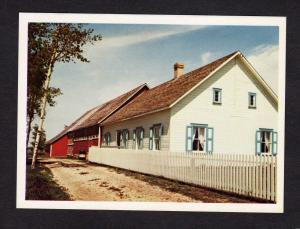 MB Mennonite Village House Steinbach Manitoba Canada Carte Postale Postcard PC