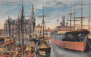 Antwerpen Belgium, Belgique, Belgie, Belgien Oude Dok en Loodswezen Antwerpen...