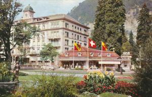 Switzerland Interlaken Hotel Schweizerhof