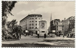 Bristol; The War Memorial K3333 RP PPC By Valentines, Unposted, c 1950's