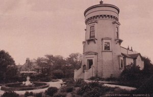 Dumfries Observatory Real Photo Old Postcard