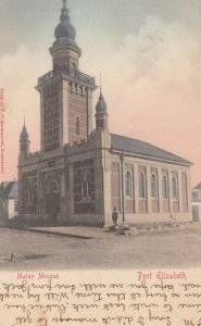 PORT ELIZABETH , South Africa , 1905 ; Malay Mosque