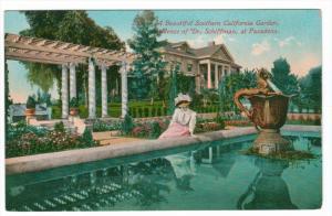 California Pasadena Residence of Dr. Schiffman Garden