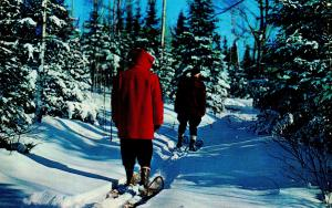 New England - Snow Shoeing