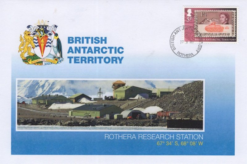 British Antarctic Territory Rothera Research Station FDC