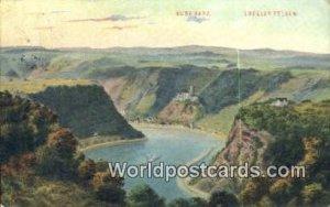 Loreley Felsen Burg Katz Germany Postal Used Unknown, Missing Stamp