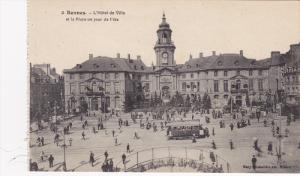 Rennes , France , 00-10s ; L'Hotel de Ville
