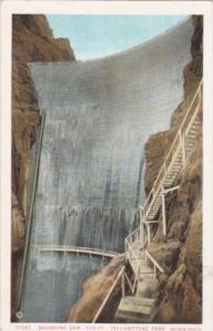 Shoshone Dam Yellowstone National Park
